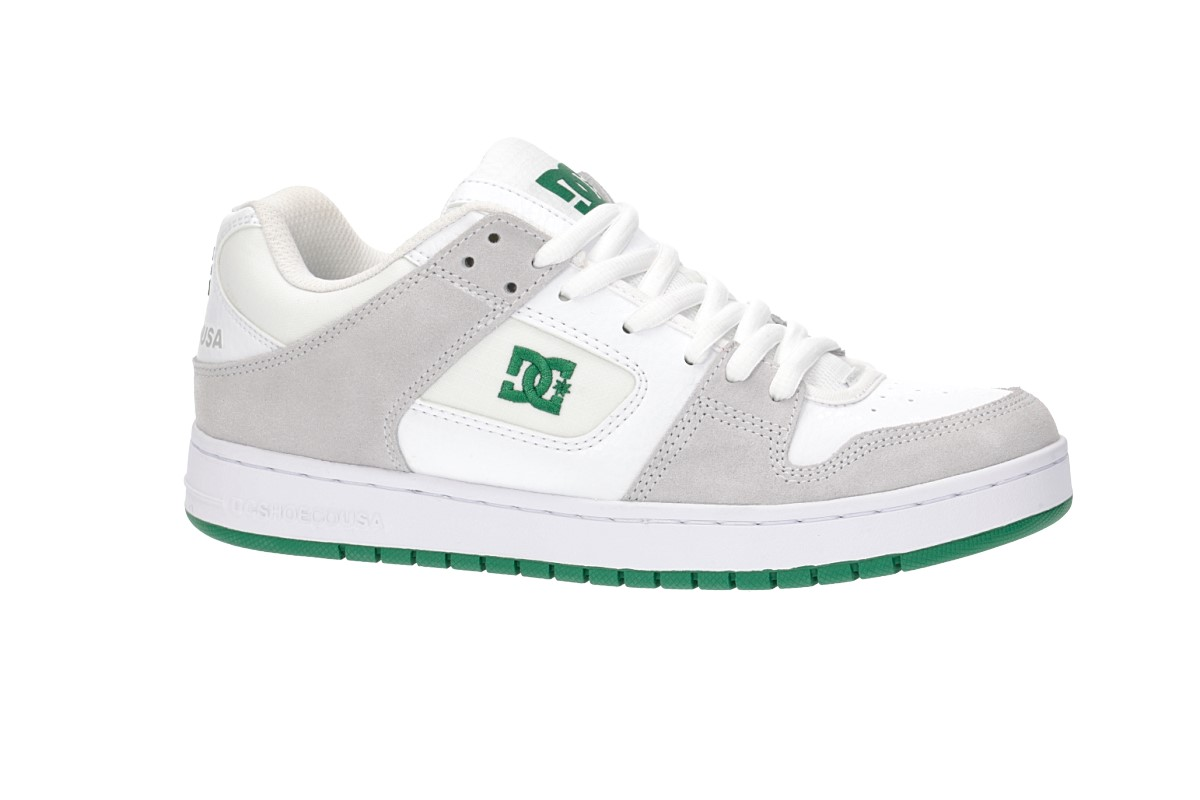 DC Manteca Shoes (white green)