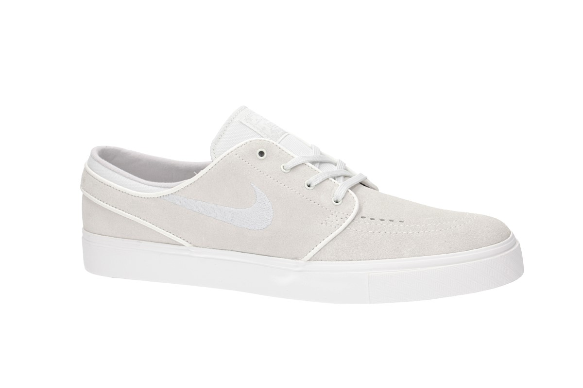 Nike SB Zoom Stefan Janoski Schoen (summit white vast grey)