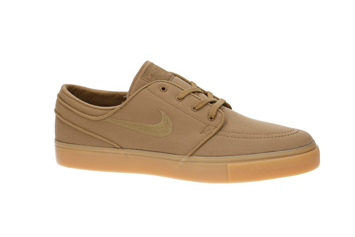 cheaper 71342 48d57 Nike SB Zoom Stefan Janoski Canvas Shoes (golden beige)