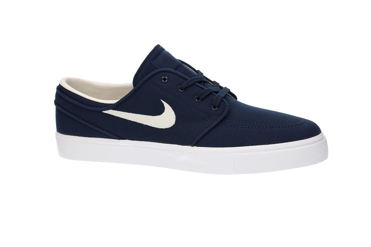 Nike SB Zoom Stefan Janoski Canvas Chaussure (obsidian light cream)