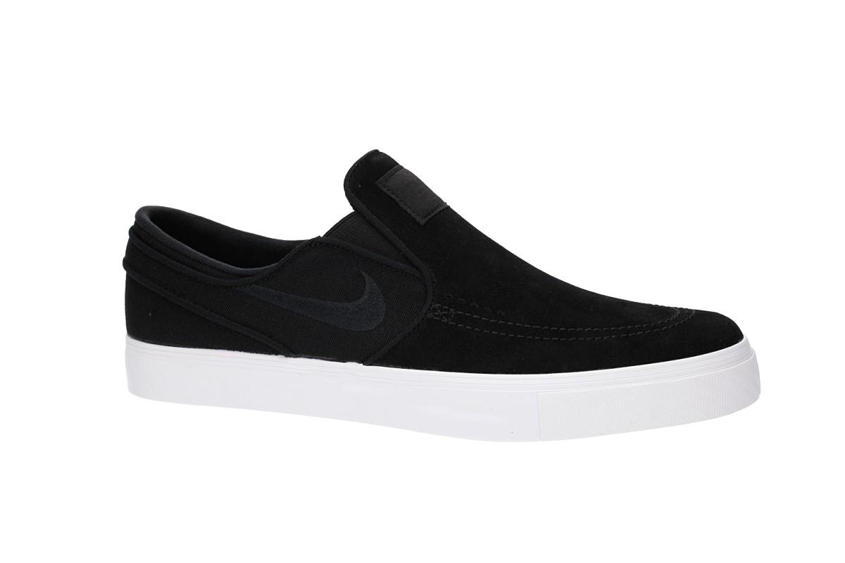 bd600dbcfa057 Nike SB Zoom Stefan Janoski Slip Shoes (black black white) buy at ...
