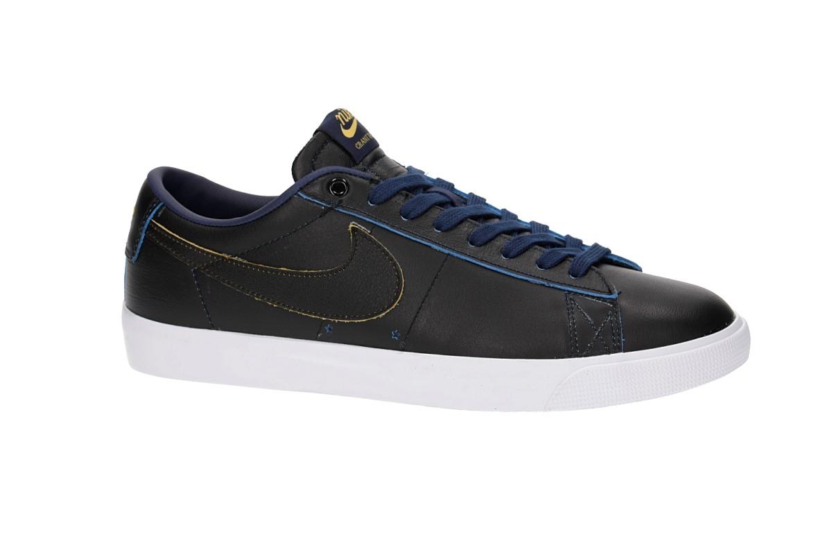 389bf0c4772705 Nike SB x NBA Blazer Low GT Shoes (black black amarillo) buy at ...
