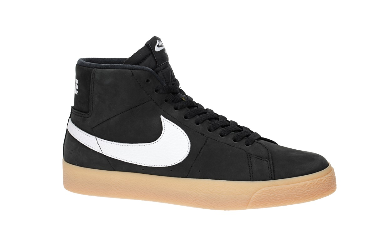 size 40 d5071 0cb28 Nike SB Orange Label Zoom Blazer Mid Iso Shoes (black white)