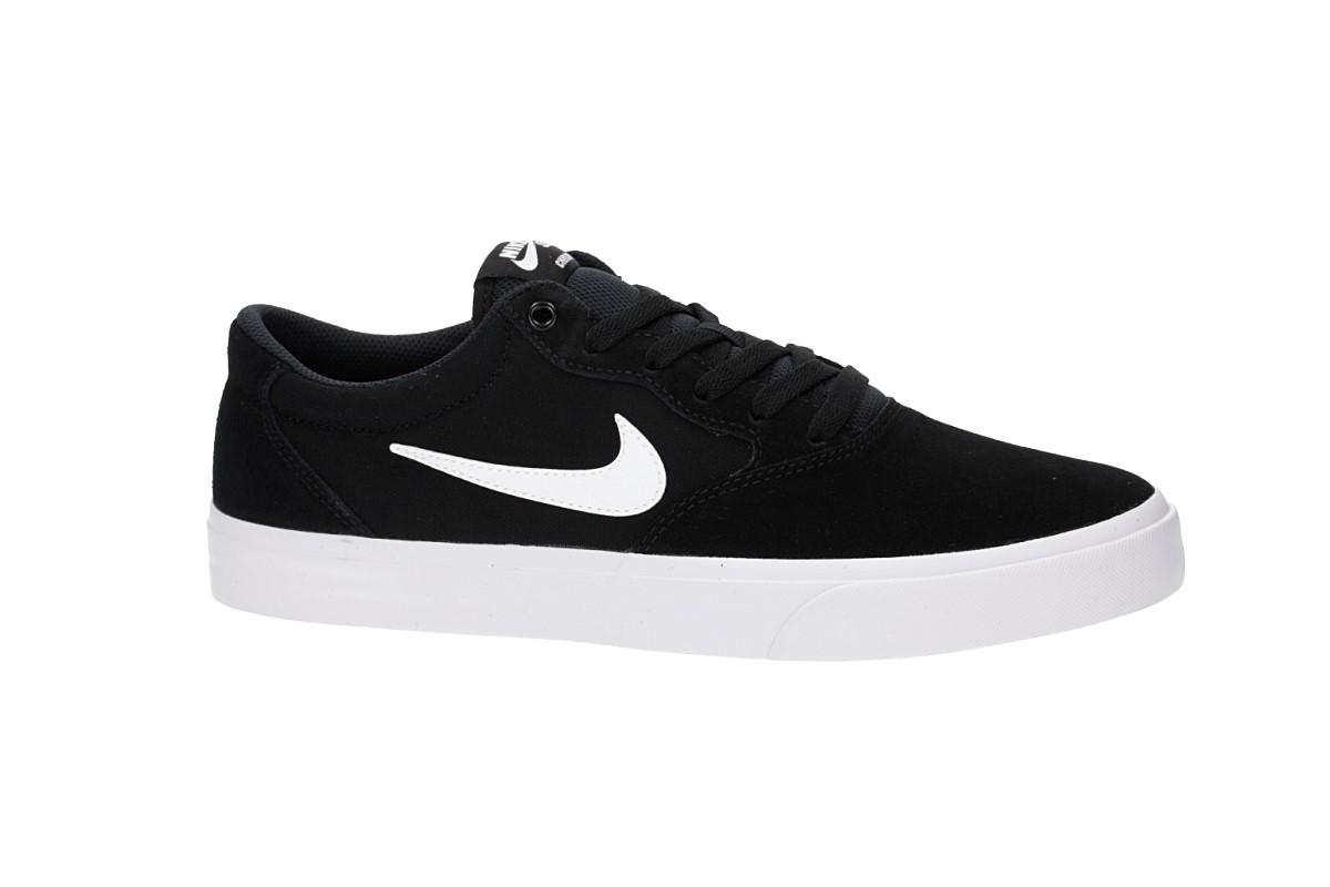 Nike SB Chron Solarsoft Scarpa (black white)