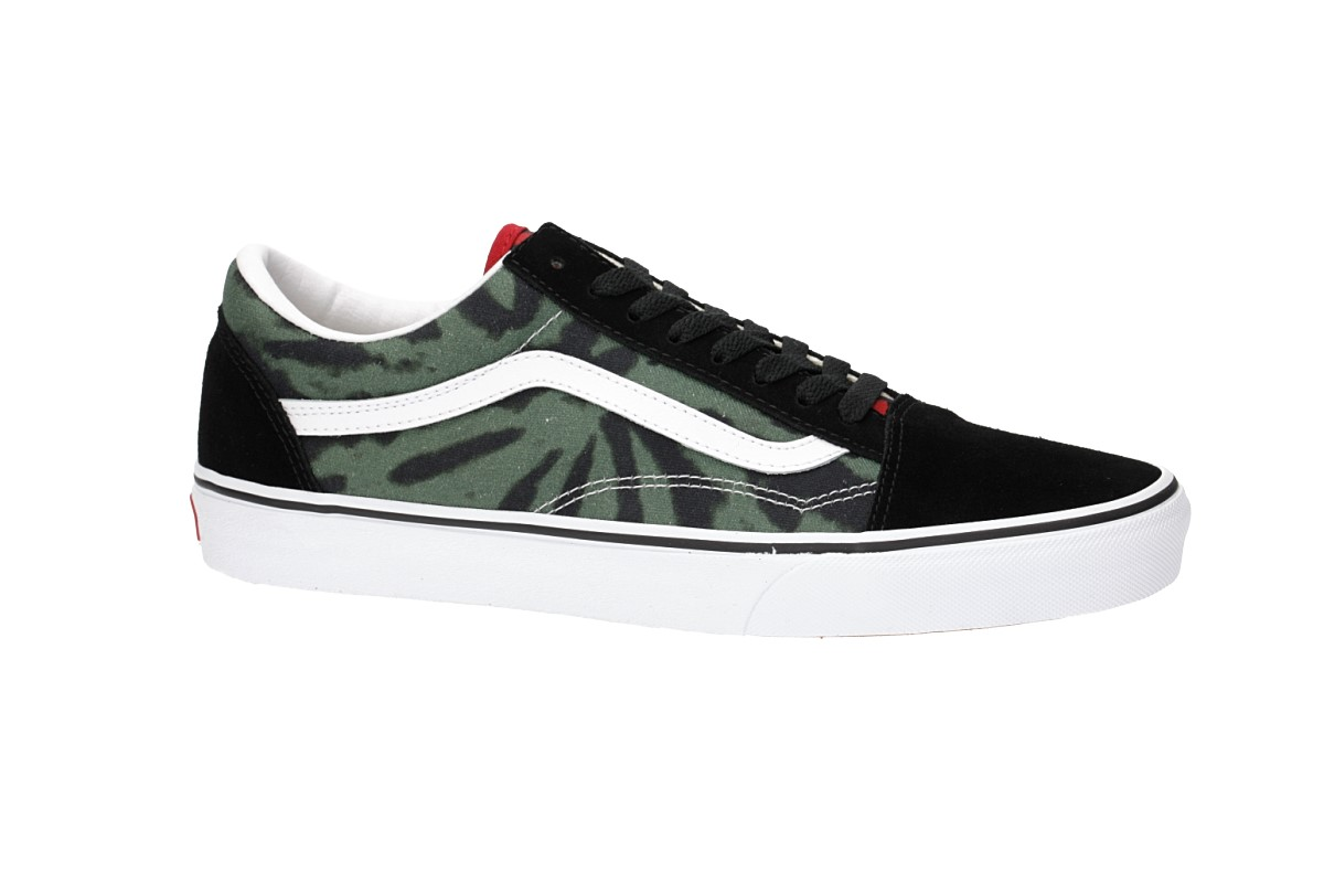 Vans Old Skool Tie Dye Shoes (multi black)