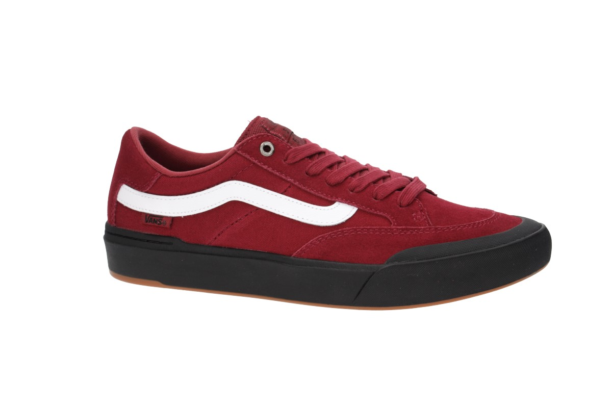 c670efd2612c Vans Berle Pro Shoes (rumba red) buy at skatedeluxe