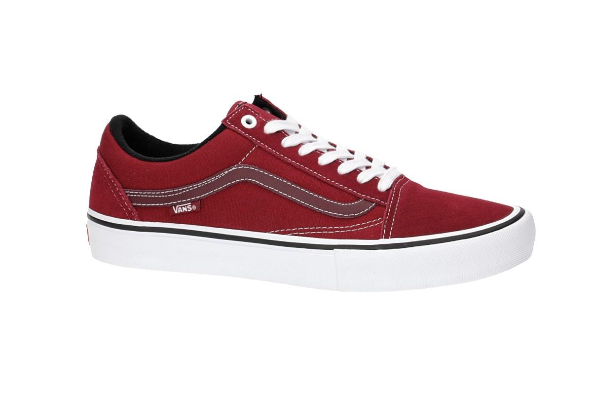 Vans Old Skool Pro Scarpa (rumba red true white)