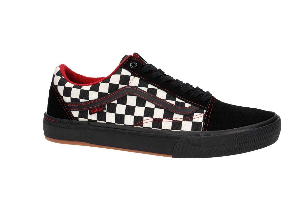 Vans Old Skool Pro BMX Shoes (kevin peraza black ckeck) buy at ... 313ccf86c