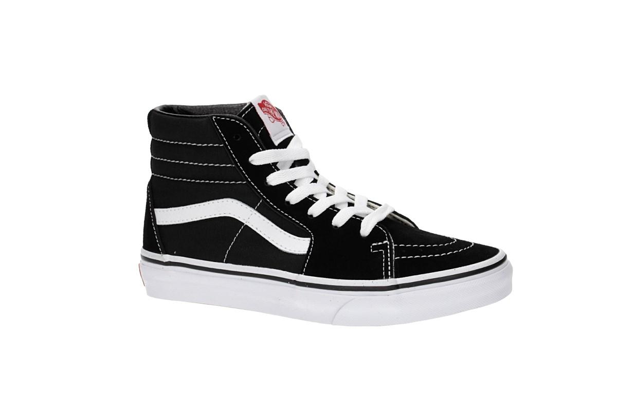 127963d851b Vans Sk8-Hi Shoes kids (black true white) buy at skatedeluxe