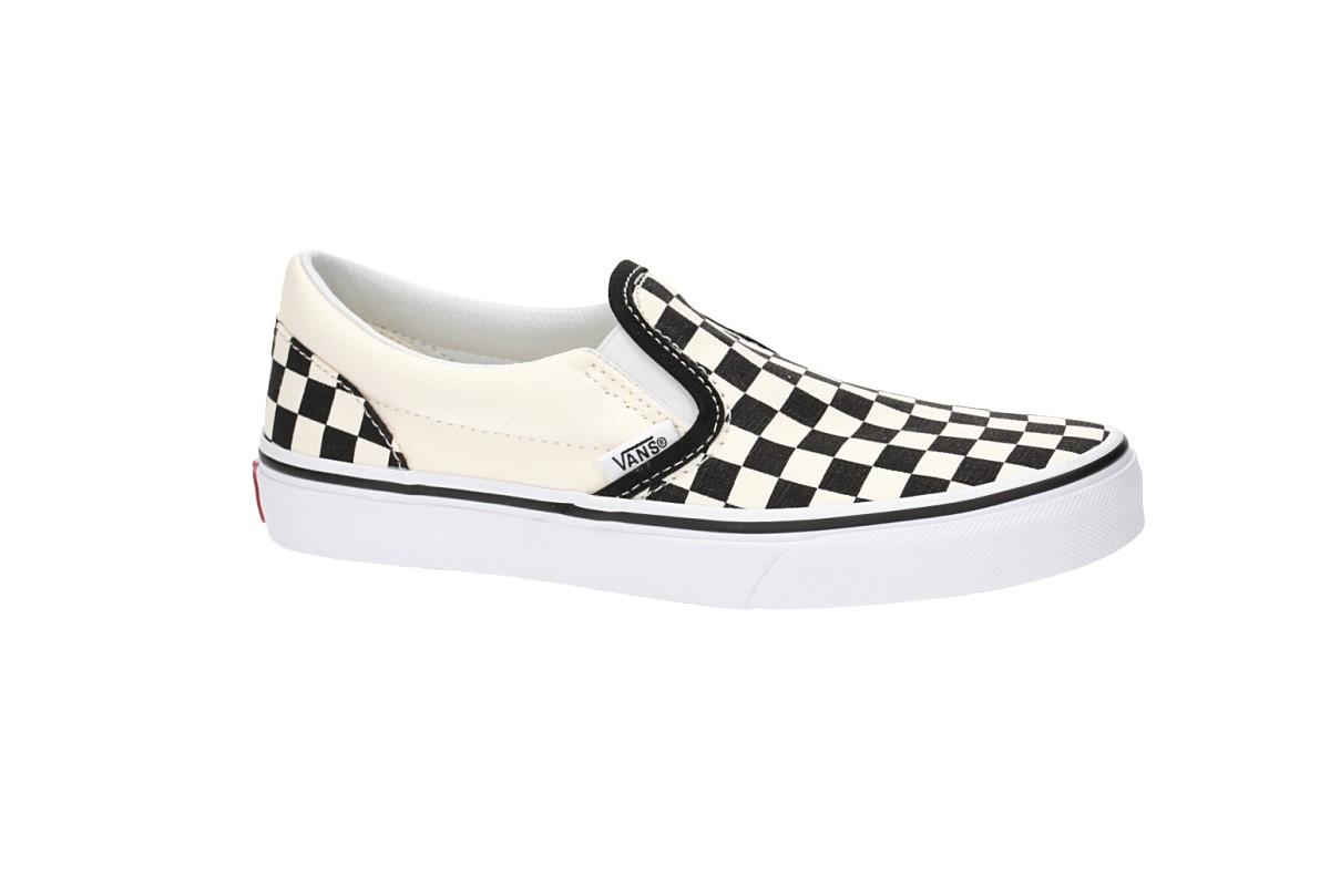 Vans Classic Slip-On Scarpa kids (checkerboard black white)