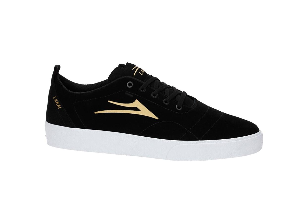 Lakai Bristol Suede Chaussure (black gold)