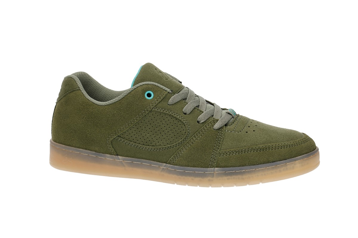 972fe2a5a47 éS Accel Slim Shoes (olive) buy at skatedeluxe