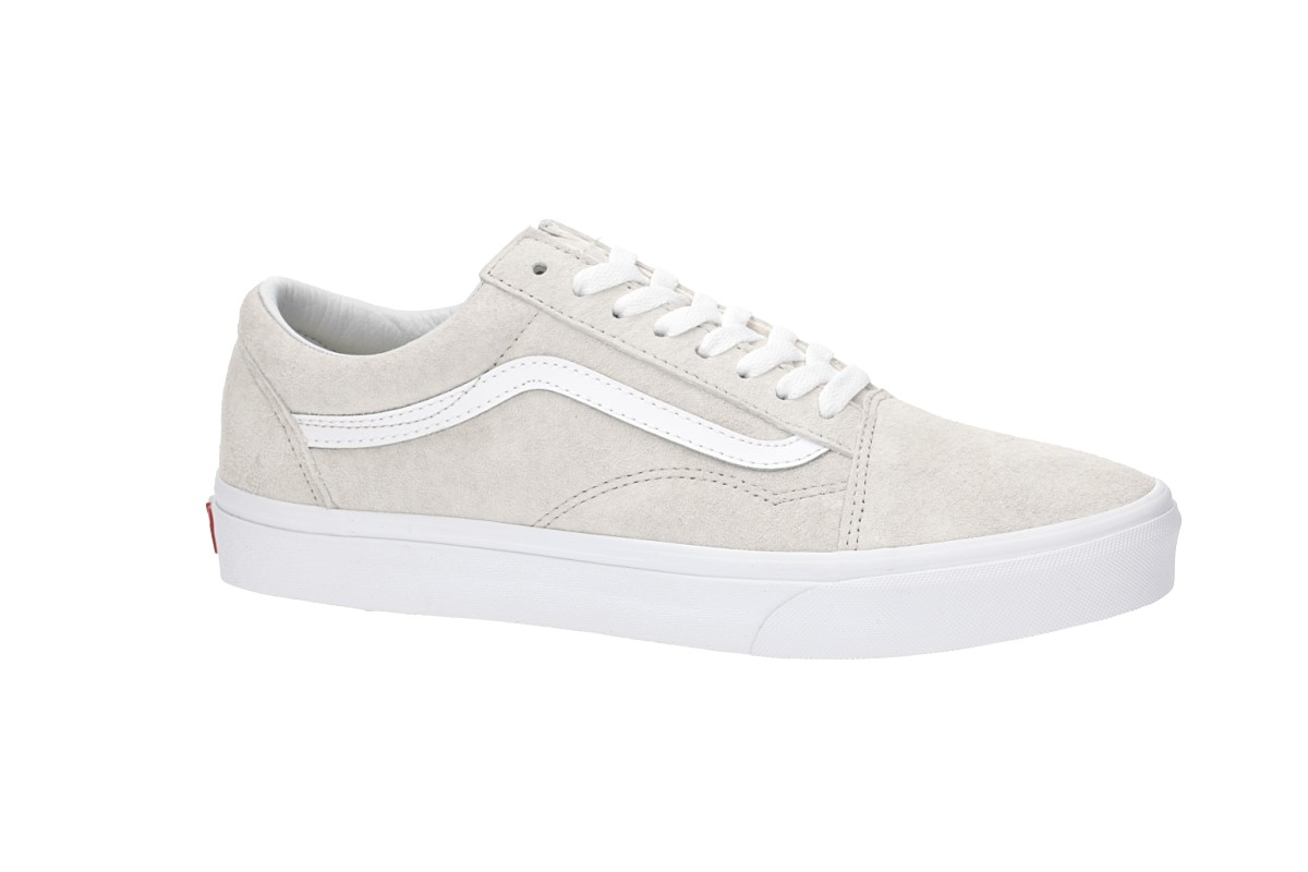 946bb9fe98 Vans Old Skool Pig Suede Shoes (moonbeam true white) buy at skatedeluxe