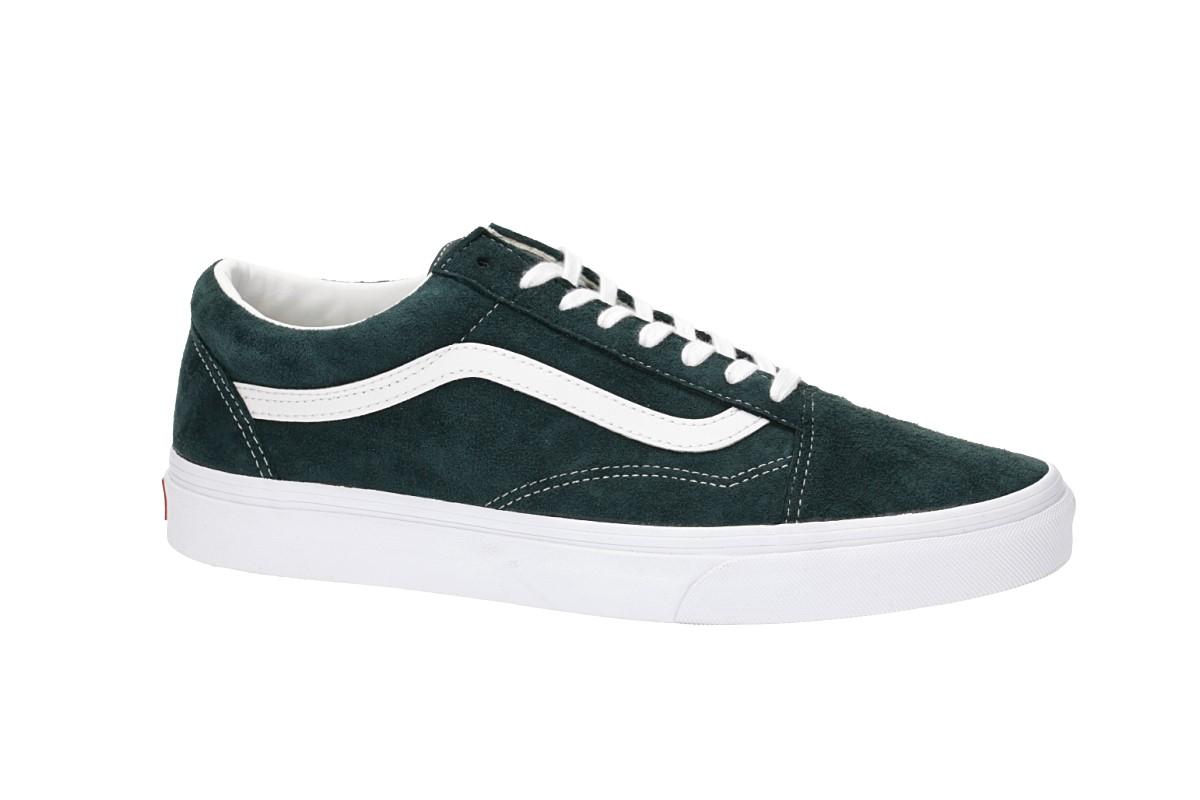 Vans Old Skool Shoes (darkest spruce true white)