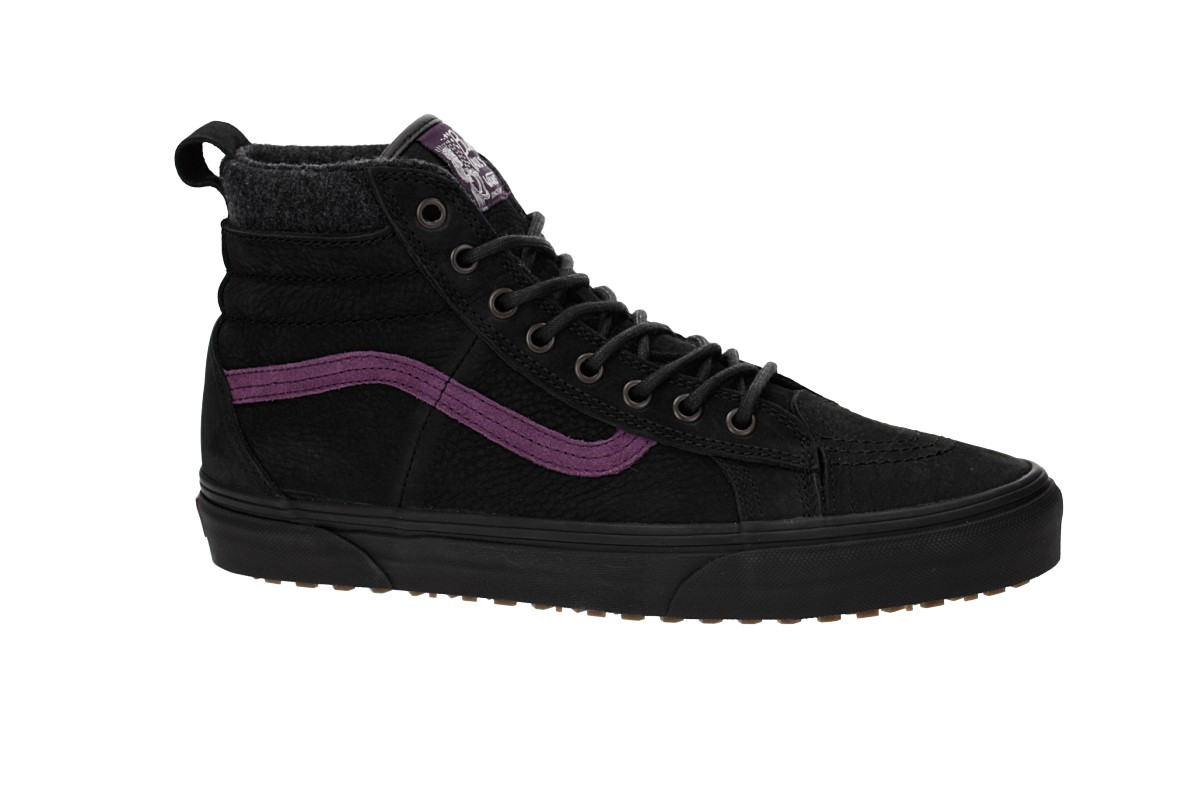 Vans Sk8-Hi 46 MTE DX Shoes (blake paul black purple) buy at skatedeluxe b20781f4fc6