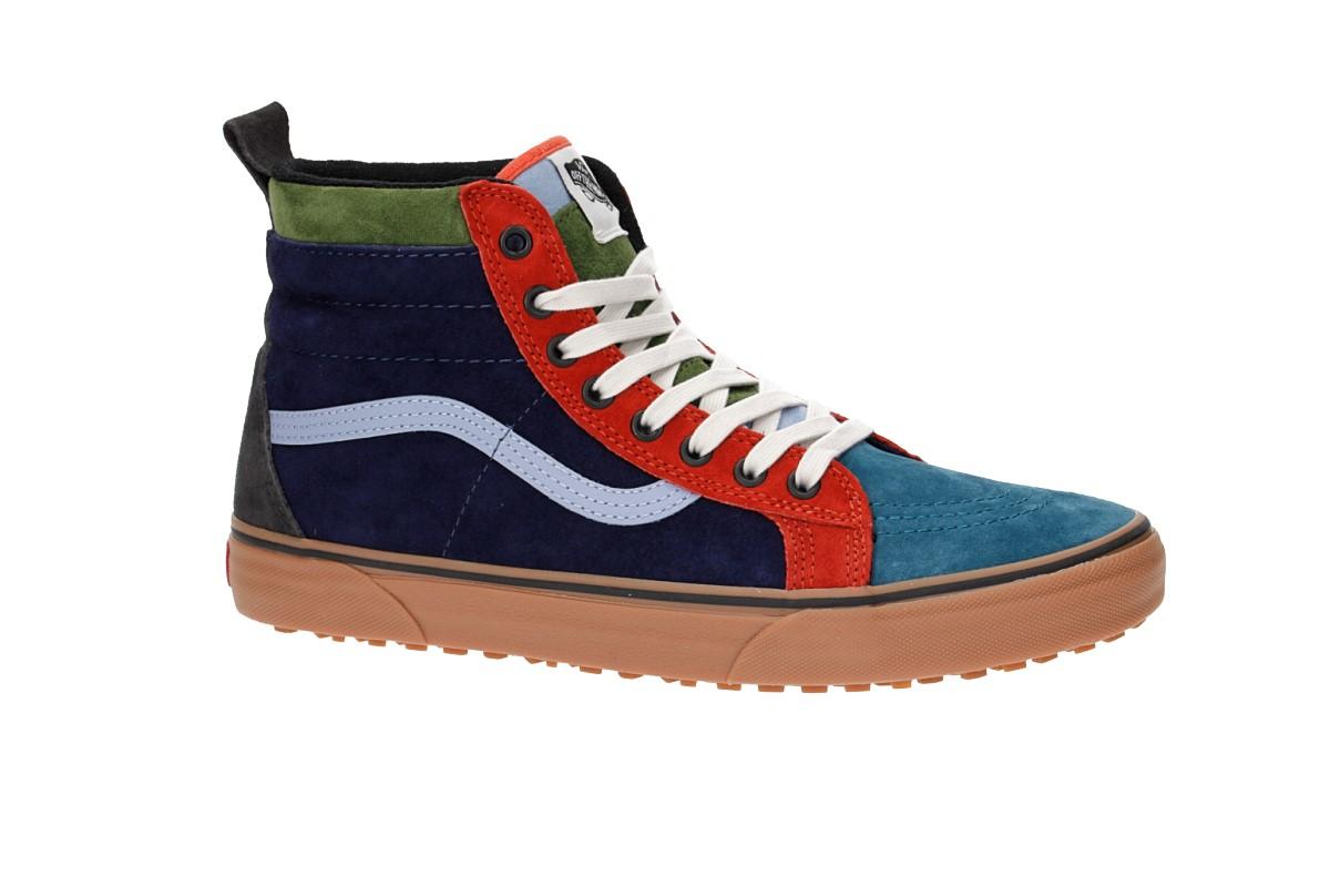 8c083c885e Vans Sk8-Hi MTE Shoes (medieval blue lavender lustre) buy at skatedeluxe