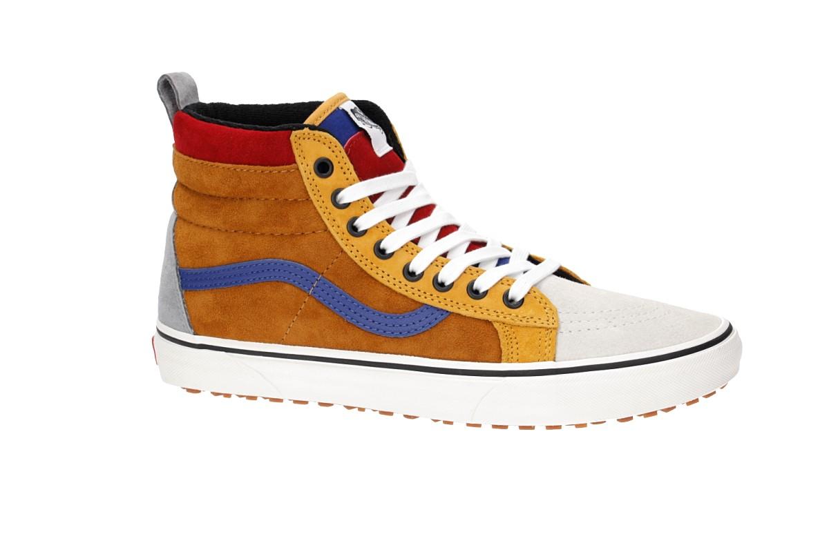 Vans Sk8-Hi MTE Shoes (sudan brown mazarine blue)
