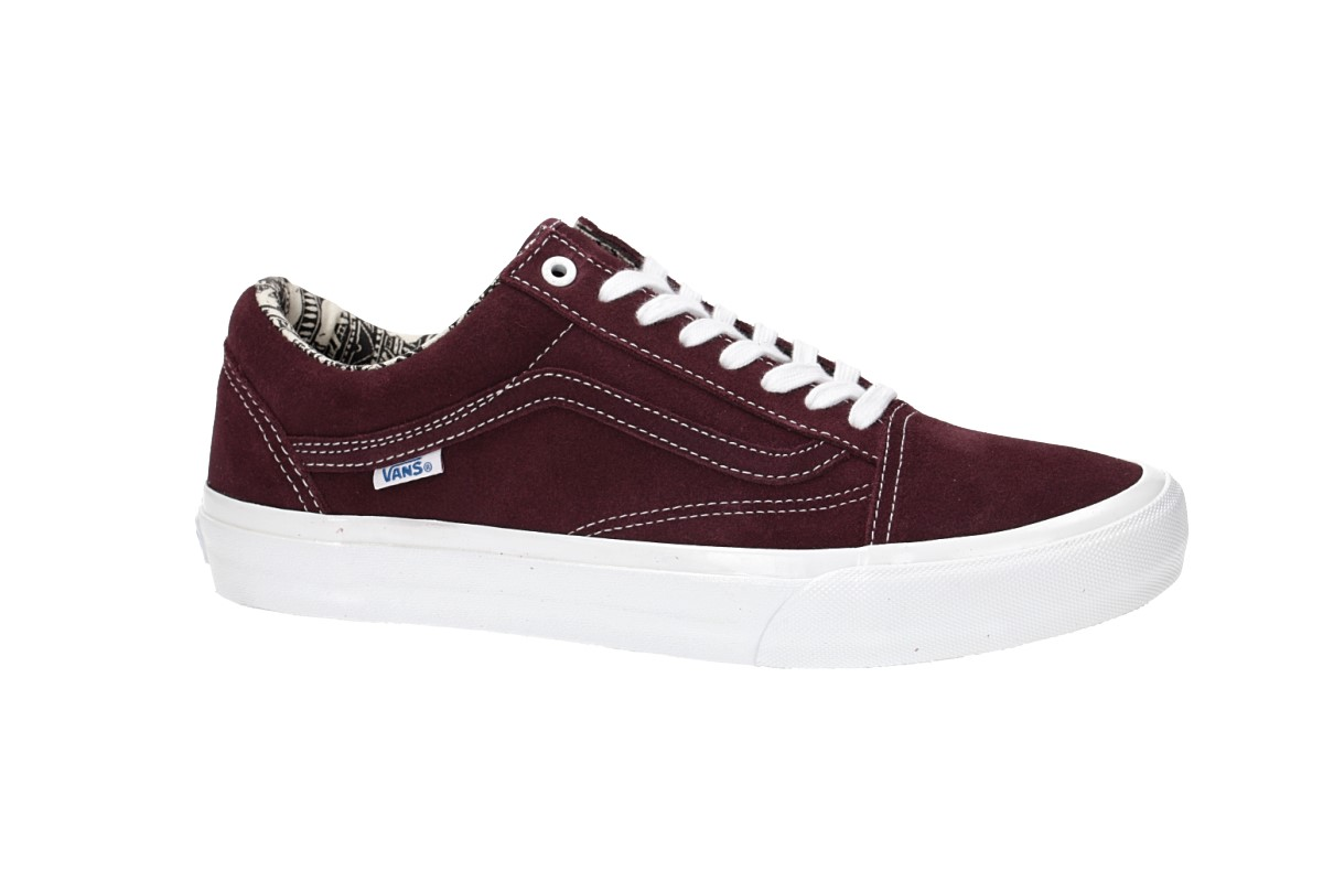 8e4157aa3e51 Vans x Ray Barbee Old Skool Pro Shoes (og burgundy) buy at skatedeluxe