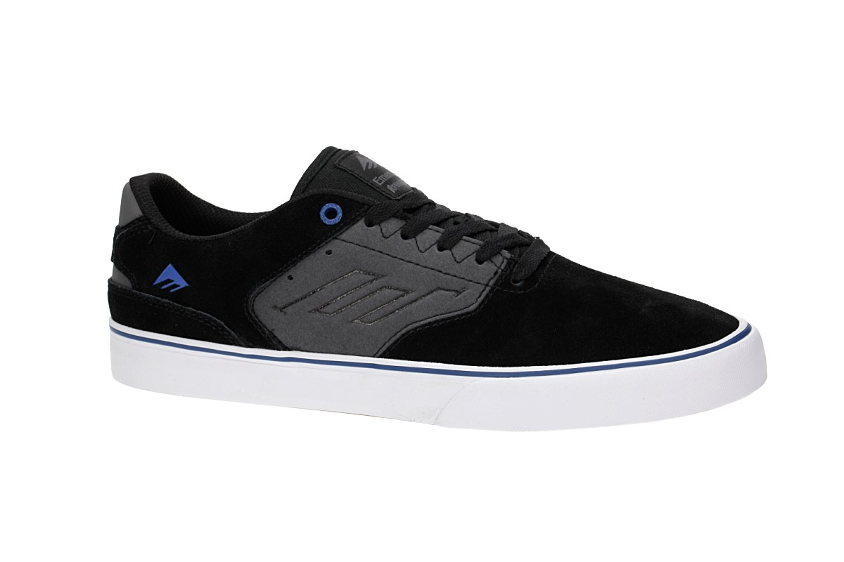 Emerica The Reynolds Low Vulc Zapatilla (black grey blue)