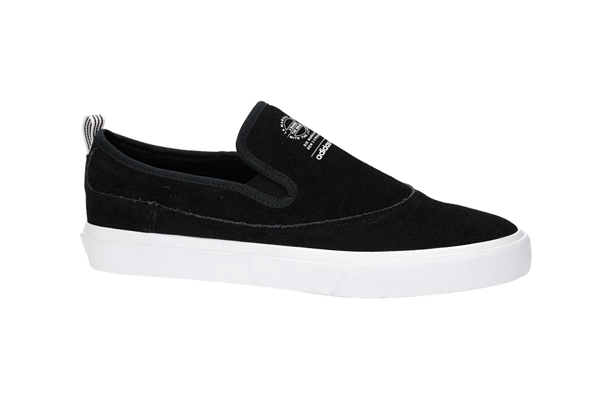 Mens White Skate Shoes Adidas Matchcourt White Slip On