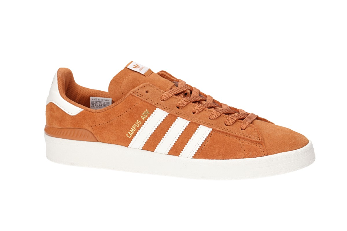 adidas Skateboarding Schuhtech white copper Campus ADV chalk gold MSVpzqUG