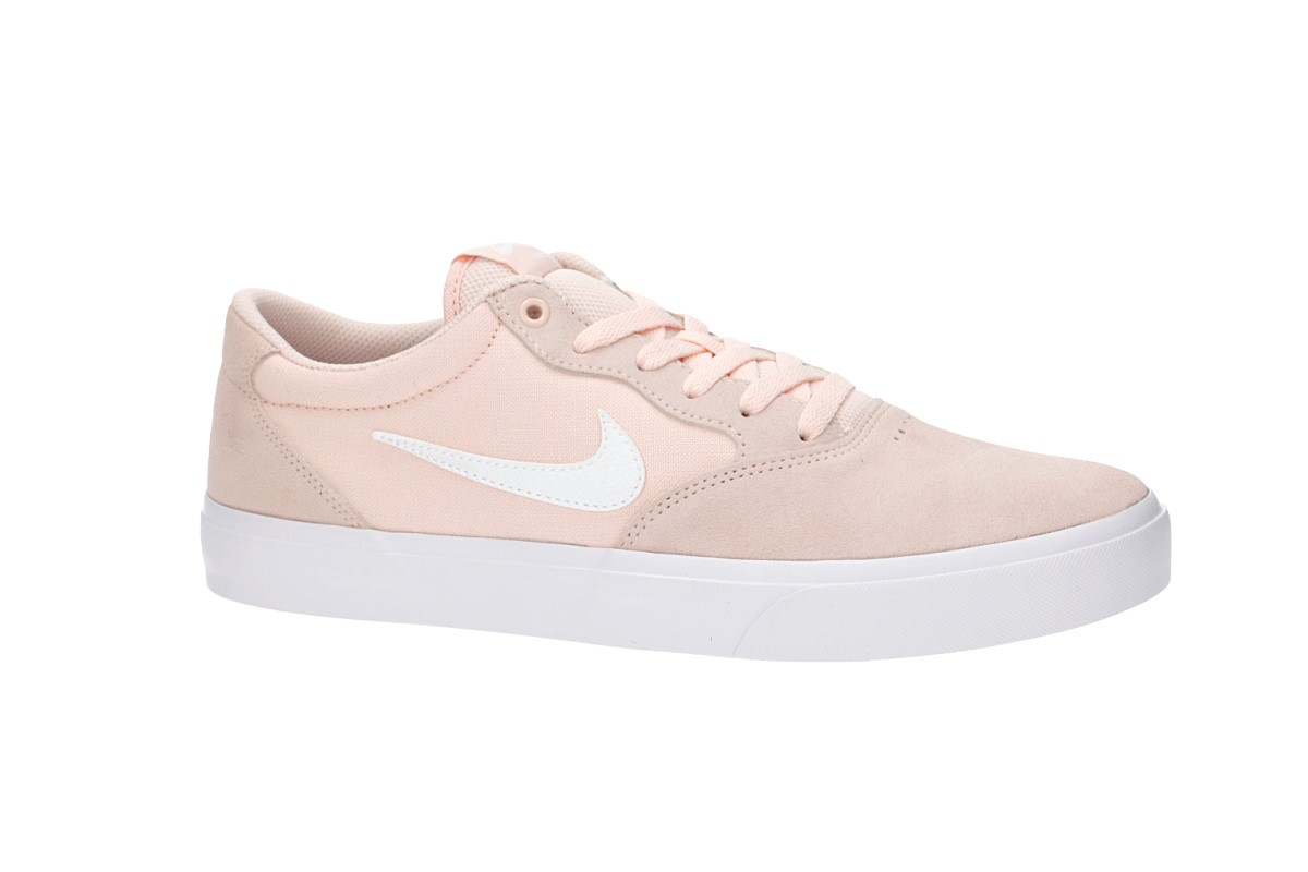 huge selection of 7e807 13564 Nike SB Chron Solarsoft Shoes (washed coral white) buy at skatedeluxe