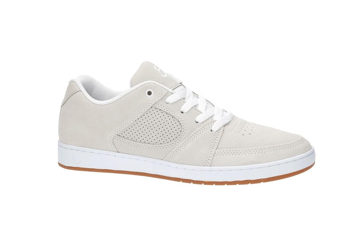 e5438ae2864 éS Accel Slim Shoes (white white gum) buy at skatedeluxe