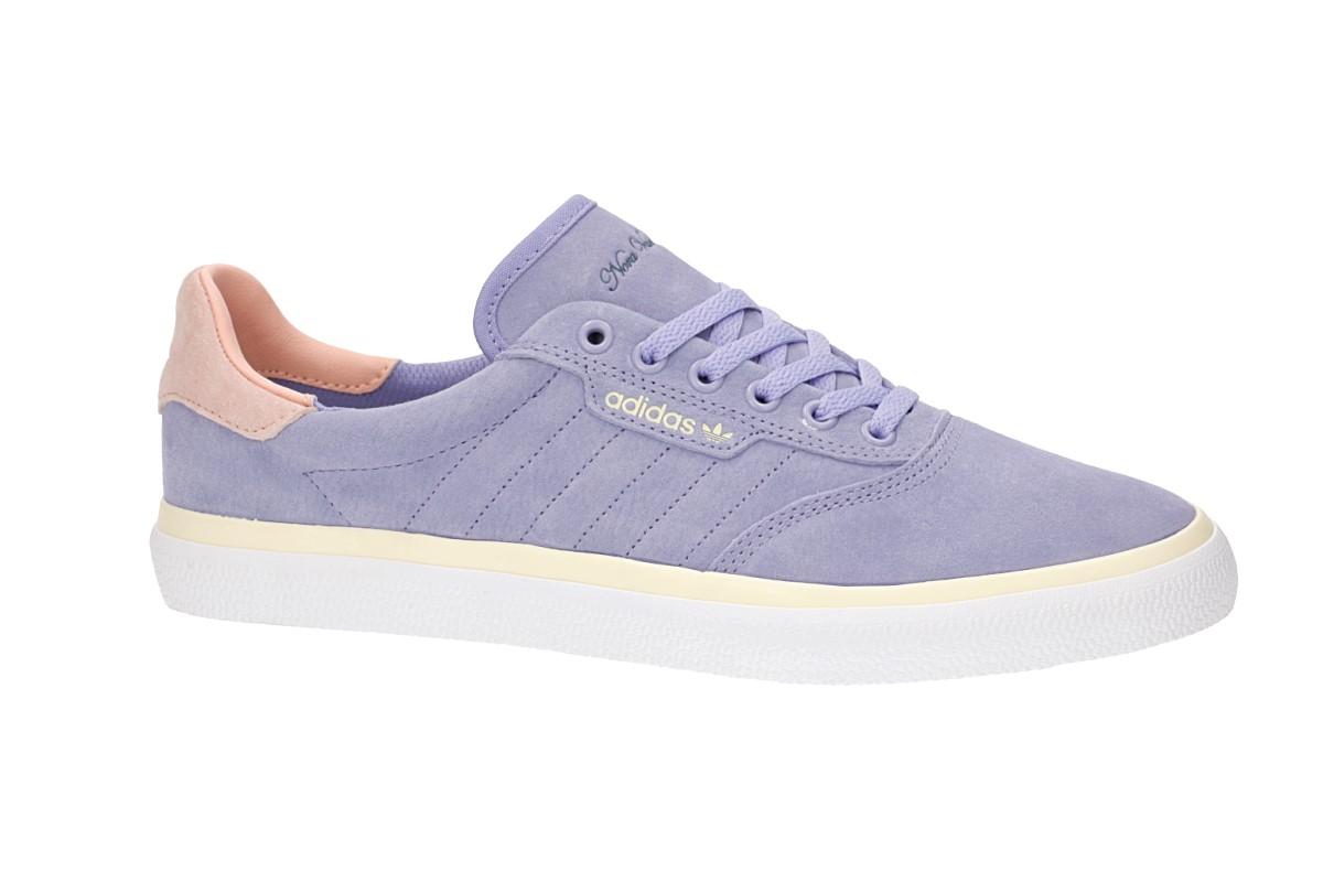 adidas Skateboarding x Nora 3MC Shoes (light purple glow pink mist sun)