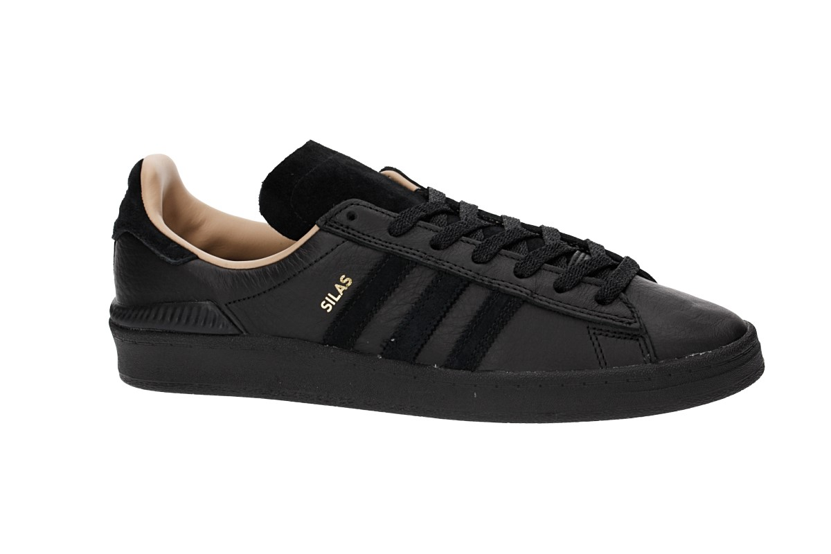 adidas Skateboarding x Silas Campus ADV Shoes (core black)