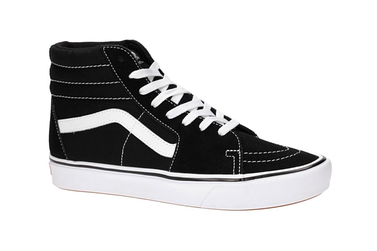 Vans ComfyCush SK8 Hi Shoes (black true white)