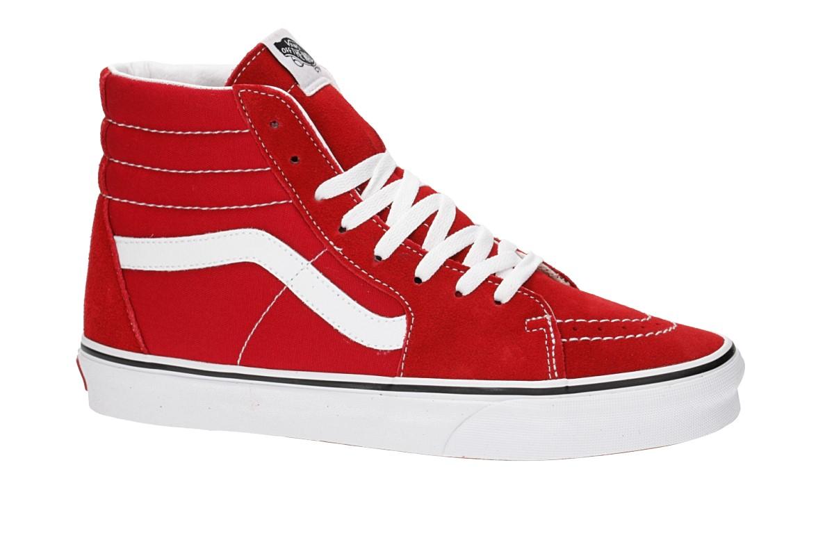 Vans Sk8 Hi Sneakers for Women Red