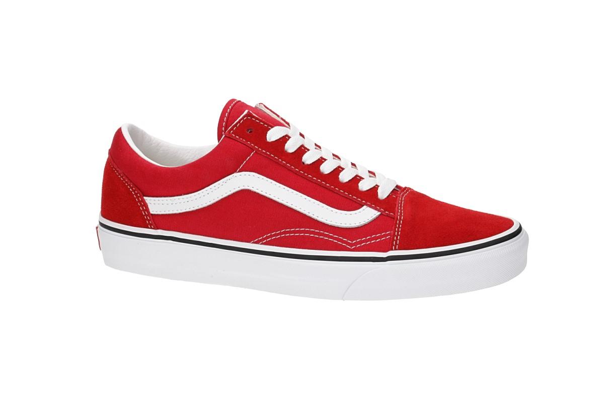 Vans Old Skool Zapatilla women (racing red true white)