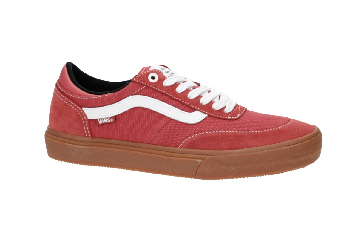 2 Red White Pro Gum Schuhmineral Vans Crockett Gilbert True