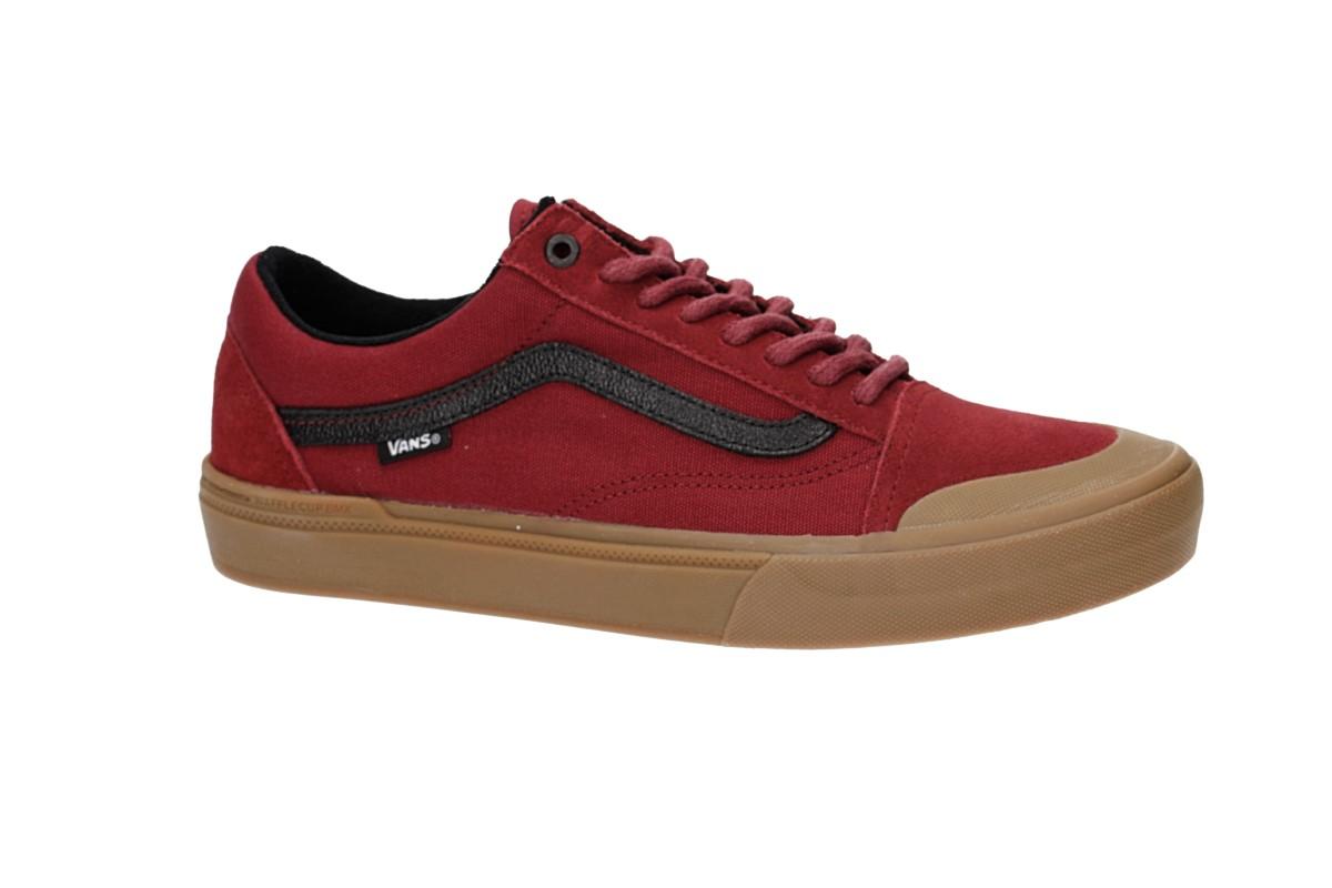 Vans Old Skool Pro BMX Shoes (biking red gum)