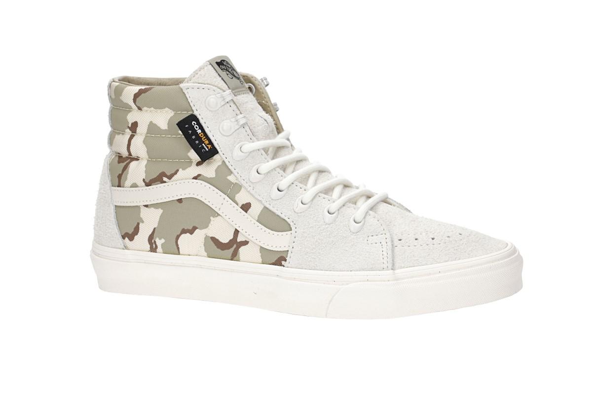 Vans SK8 Hi Shoes (white asparagus camo)