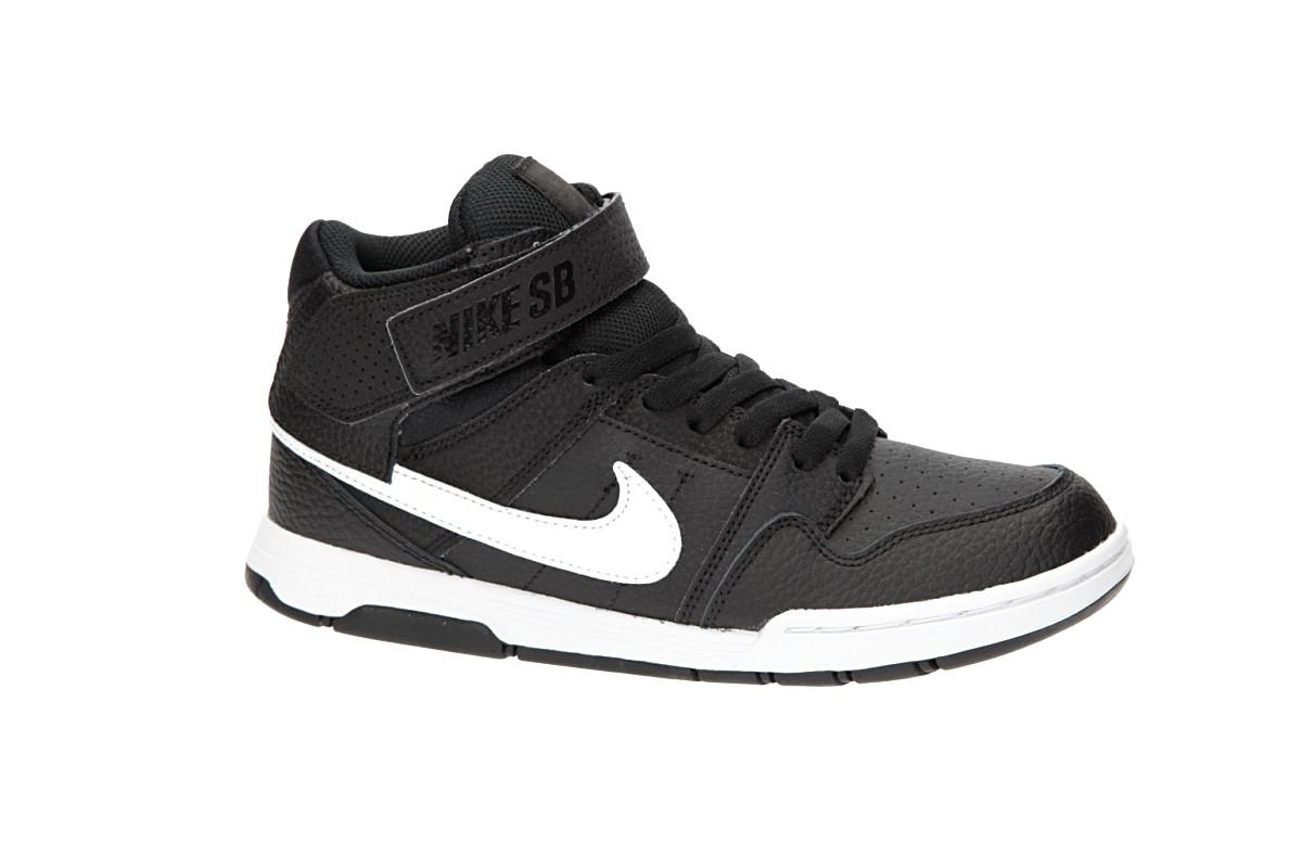 Nike SB Mogan Mid 2 Scarpa kids (black white)