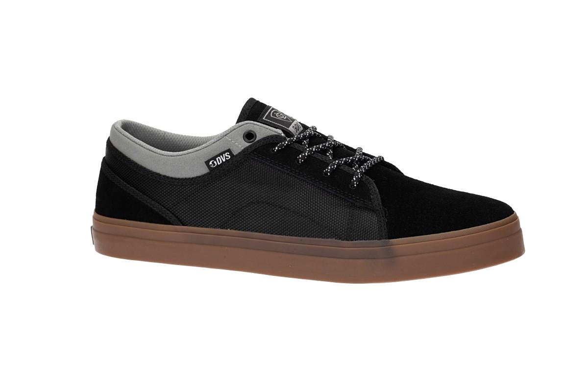 DVS Aversa+ Suede Shoes (black grey lutzka)
