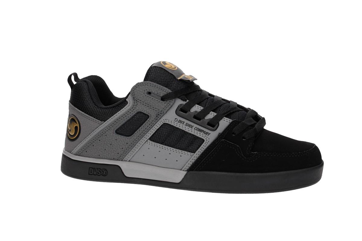 DVS Comanche 2.0+ Nubuck Shoes (black grey)
