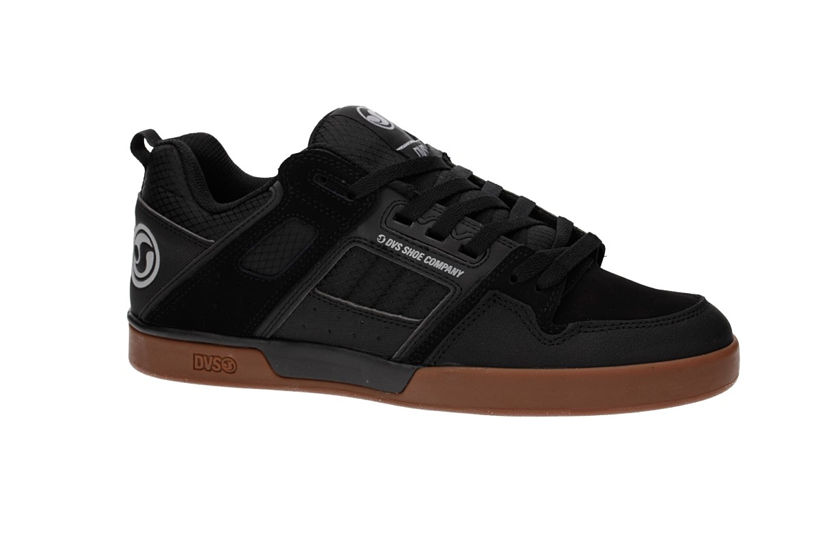 DVS Comanche 2.0+ Nubuck Shoes (black gum)