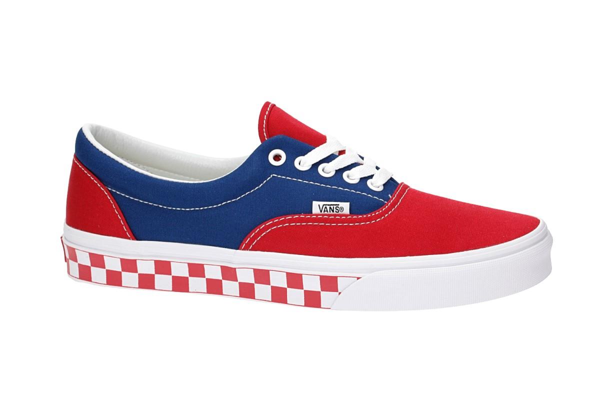 Vans Era Shoes (bmx checkerboard true blue red)
