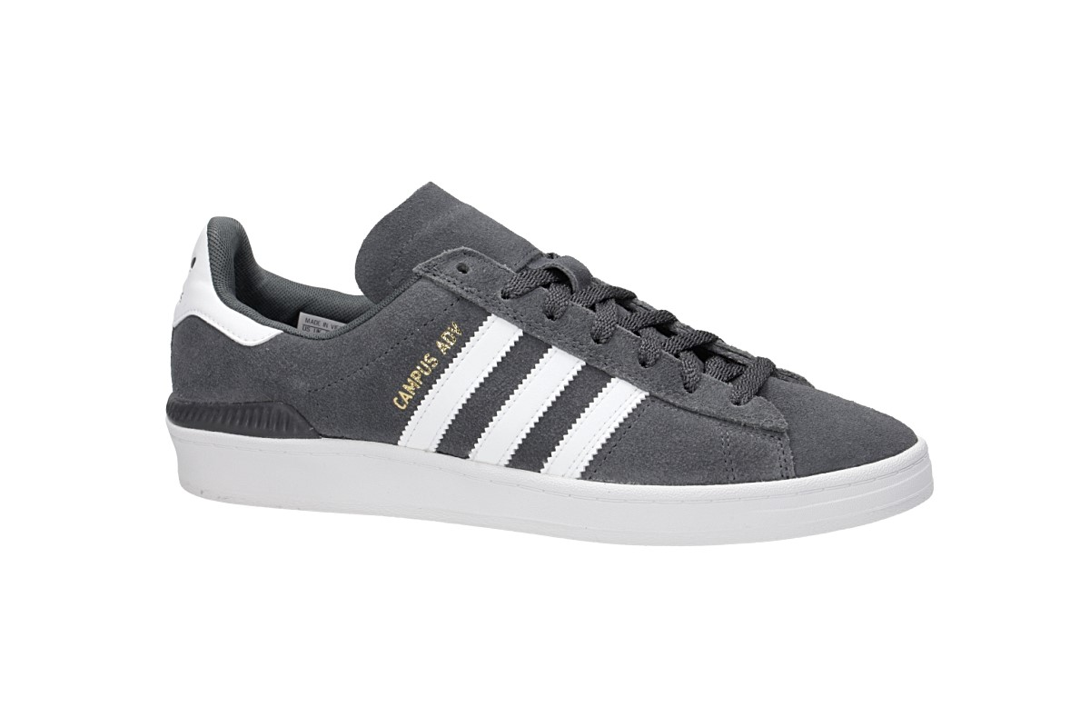 adidas Skateboarding Campus ADV Shoes (gresix white gold mint)
