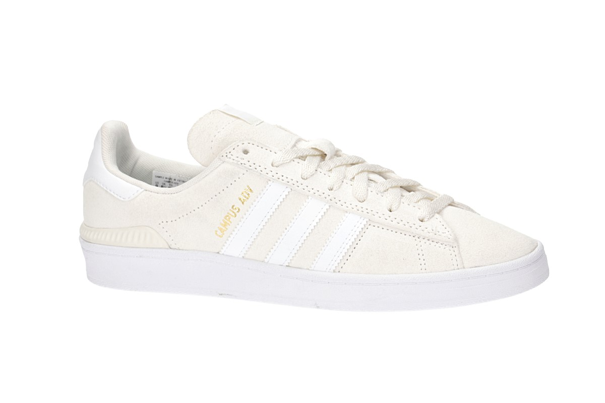 adidas Skateboarding Campus ADV Shoes (supcol white gold mint)