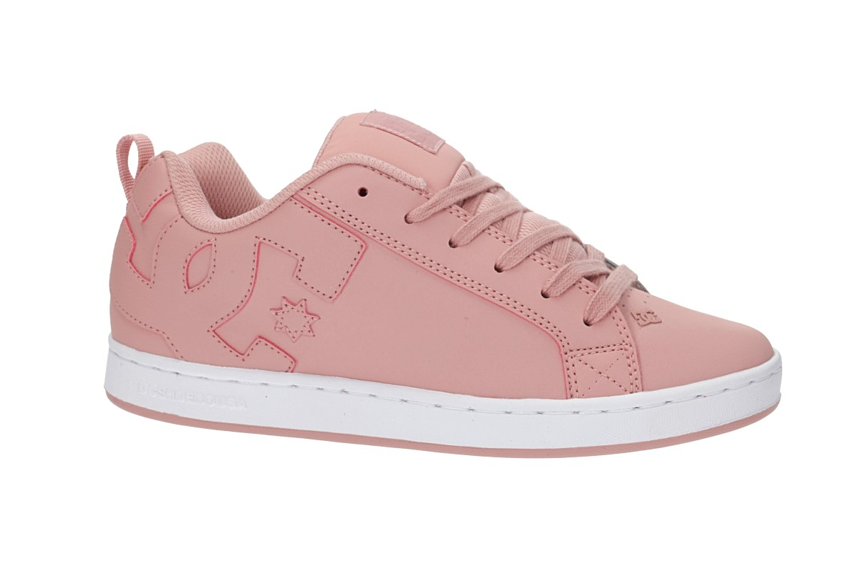 DC Court Graffik Shoes women (rose)