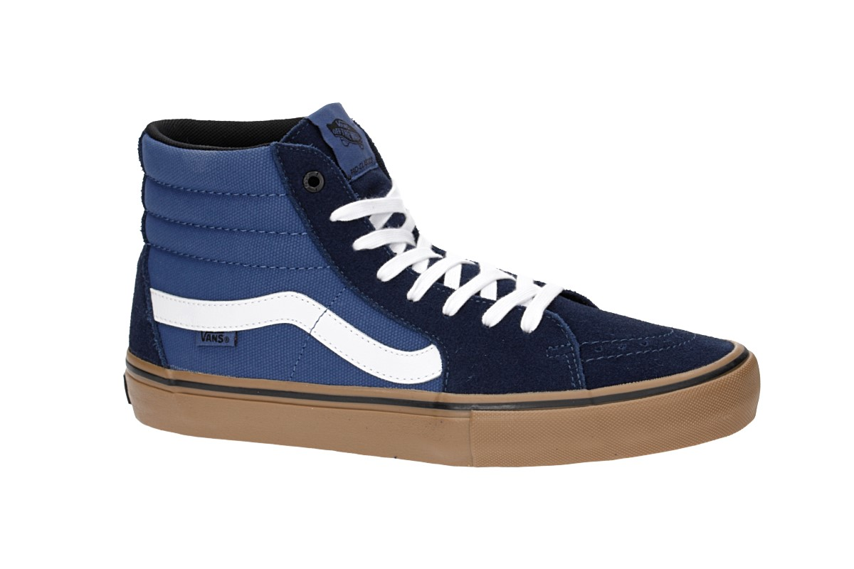 Vans Sk8-Hi Pro Shoes (rainy day navy