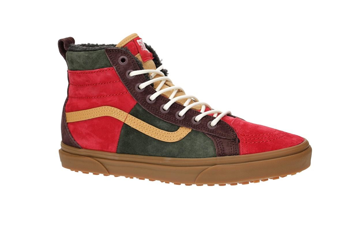 Vans Sk8 Hi 46 MTE DX Shoes (poinsettia forest night)