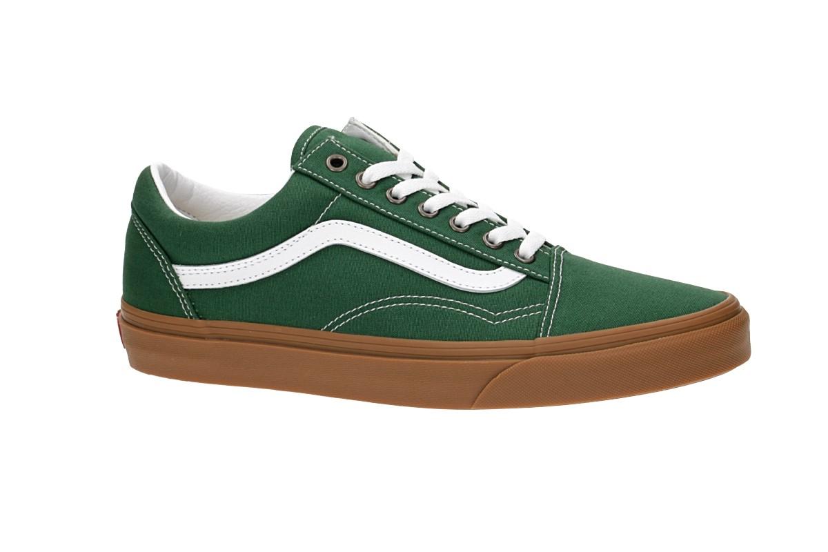 Vans Old Skool Schuh (gum green peastures white)
