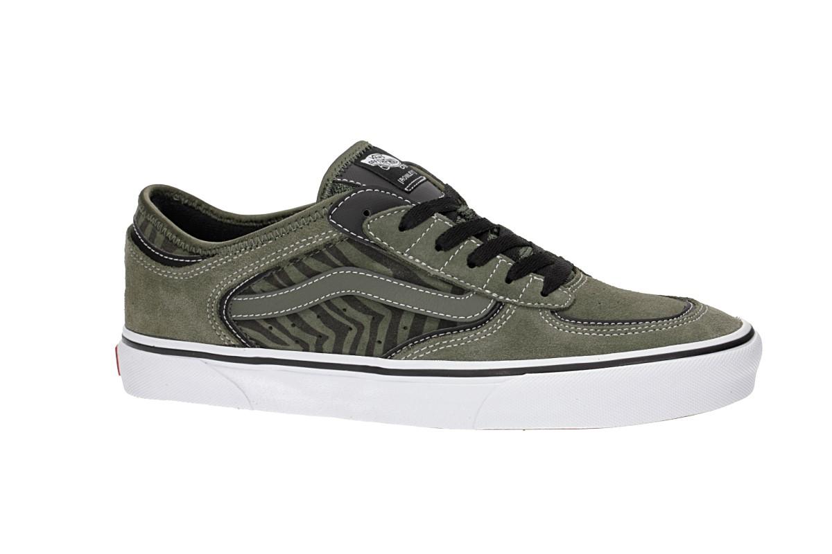 Vans Rowley Classic Shoes (grape leaf zebra)