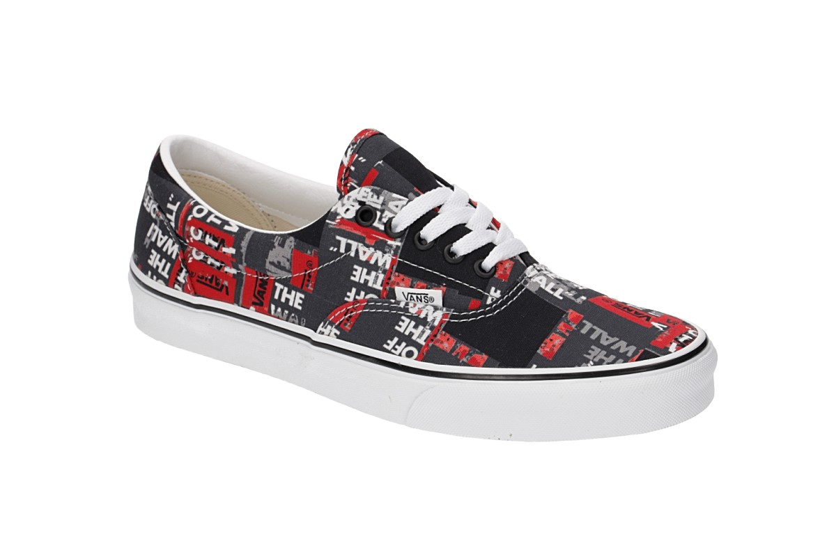 Vans Era Schuh (packing tape black red whtie)
