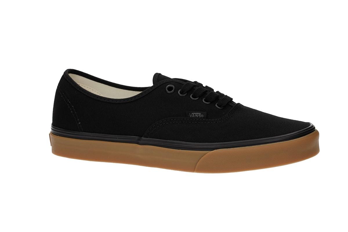 Vans Authentic Canvas Shoes (12 oz black gum)