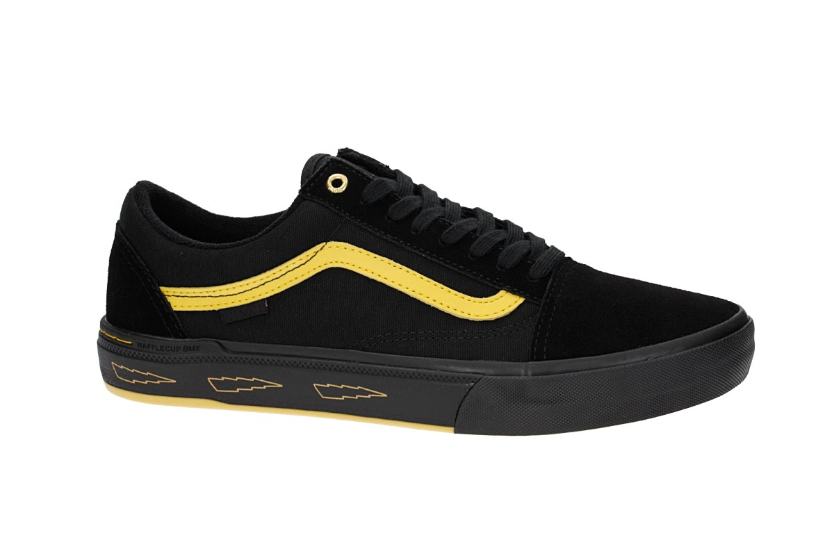 Vans Old Skool Pro BMX Shoes (larry edgar black yellow)
